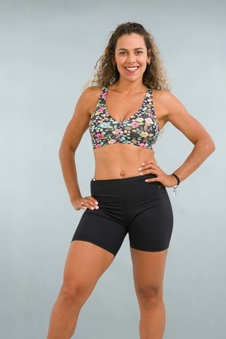 Top Fitness Estampado Floral Himalaya