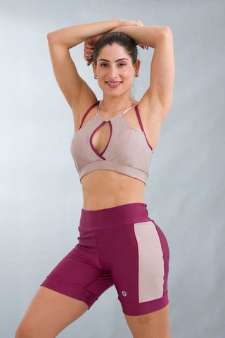 Top Fitness Shine Rosa Decot
