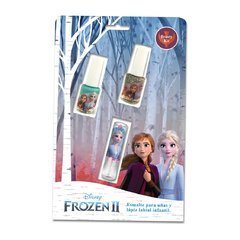 Set 2 esmaltes + 1 labial - Frozen 2