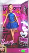 Muñeca Tipo Barbie Beauty Fashion Doll con accesorios