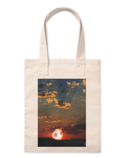 Ecobag screaming sun