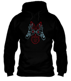 Moletom black rabbit - comprar online