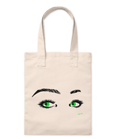 Ecobag green eyes