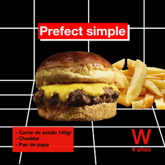 The Prefect Burger simple - comprar online