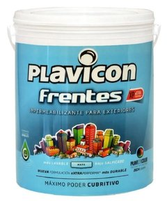 Plavicon Impermeabilizante Color Frentes Xp 25kg +cubritivo+