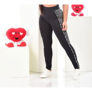 CALÇA LEGGING COM BOLSO LATERAL PLANET GIRLS