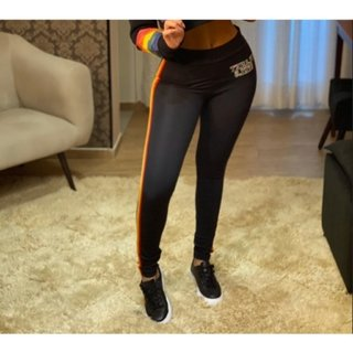 CALÇA LEGGING ARCO IRIS PLANET GIRLS