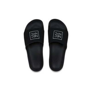 Chinelo Slide New Era NYC Box Masculino Super leve - Preto