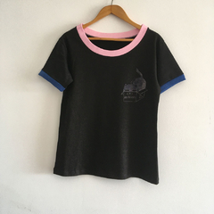 Remera unisex negra - No molestar (copia)