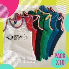 Pack x 10 Musculosas