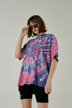 Remera oversized Flower