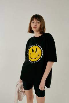 Remera oversized Smile - comprar online