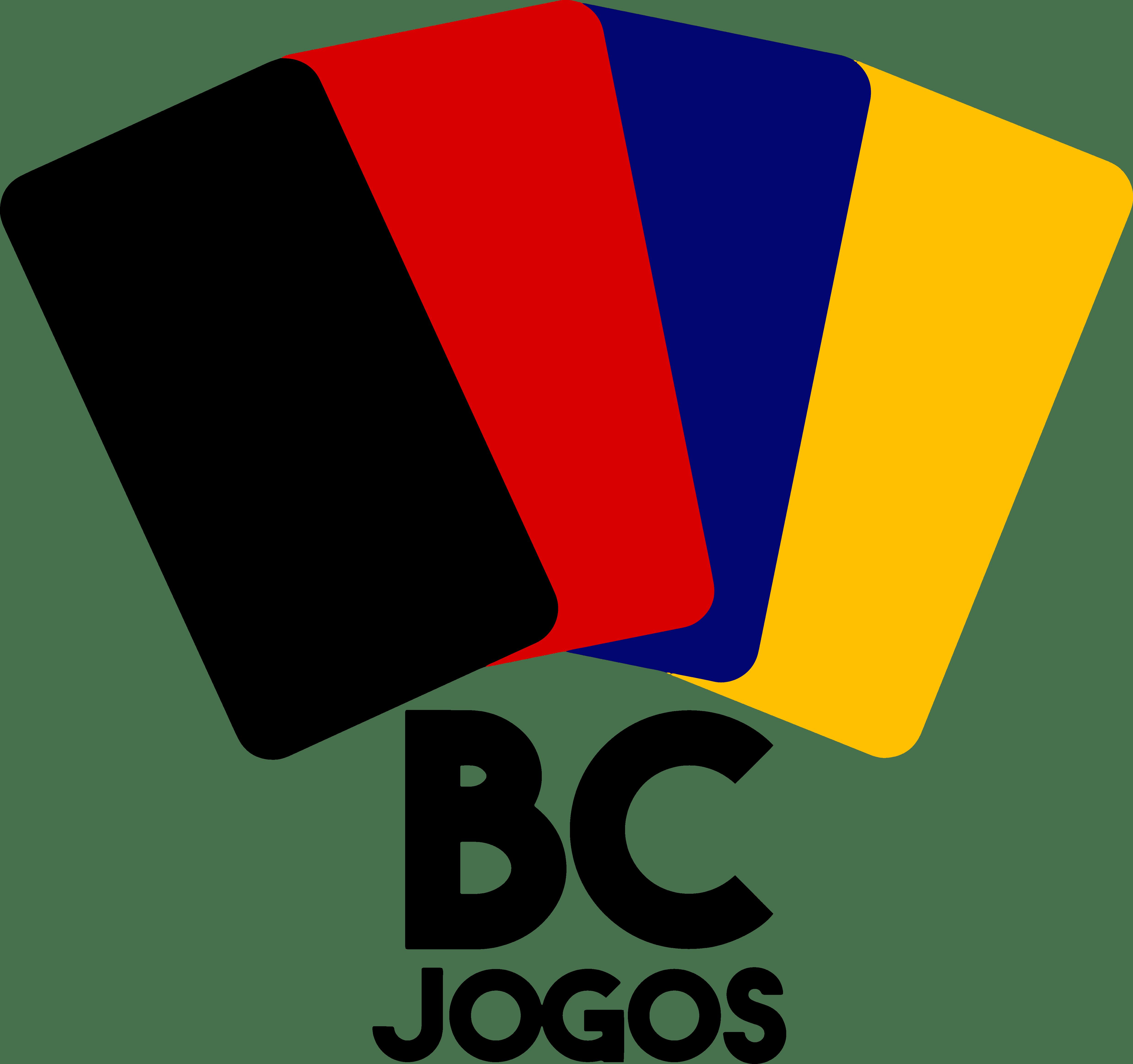 logo loja de jogos de tabuleiro BC Jogos