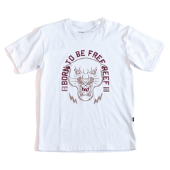 Born Free Jr Tee Blanco