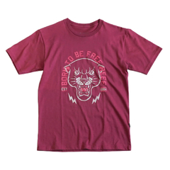 Born Free Jr Tee Bordeaux