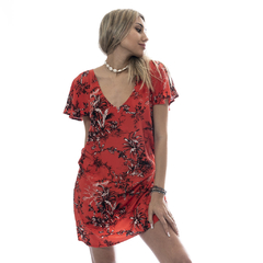 Dorian Dress Rojo en internet