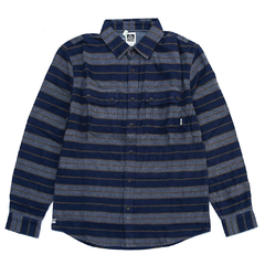 Reef Ice Dip Stripe LS