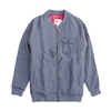 Travis Bomber Fleece II Gris Melange