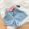 Short Kelly Denim