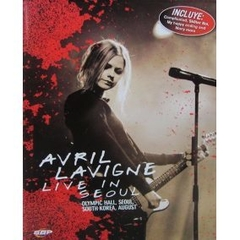 Dvd Live in Seoul de Avril Lavigne