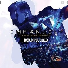 Cd y Dvd Mtv Unplugged Con El Alma Desnuda - Emmanuel