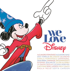 cd We Love Disney