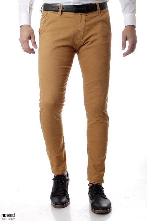 Pantalon Chupin Sat N Con Spandex Azul De Hombre