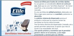 Servilletas Papel Elite Fast Food 20 Paq X 350 Usos Código 6507 en internet