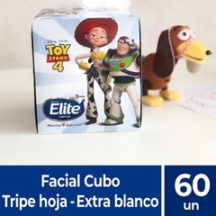 Pañuelos Carilina Faciales Elite Disney Box x 60 Elite Triple Hoja (5418)