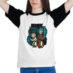 Camiseta Rick and Morty - Star Wars