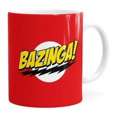 Caneca Bazinga! The Big Bang Theory