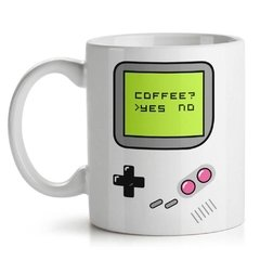 Caneca Game Boy - Coffe Yes No