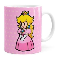 Caneca Princesa Peach Super Mario Bros