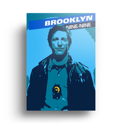 Quadro Brooklyn Nine Nine - Peralta