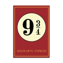 Quadro Harry Potter - Plataforma 9 ¾