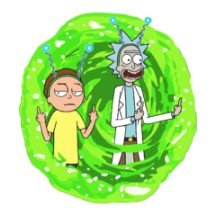 Camiseta Rick and Morty - Dedo - comprar online