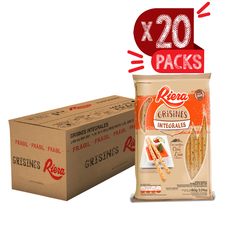 Grisines Integrales Riera 20 Packs x160g ($62.72 x Unidad)