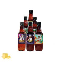 Pack 6 botellas 500ml