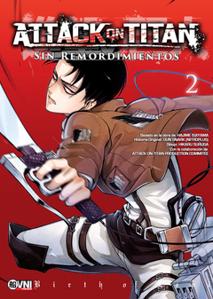 Attack on Titan: Sin remordimientos vol. 2