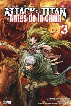 Attack On Titan: Antes de la caída Vol.3