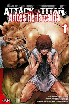Attack on Titan: Antes de la caída Vol.1