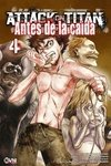 Attack On Titan: Antes de la caída Vol.4