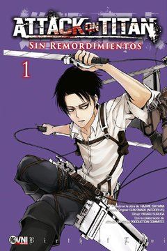 Attack on Titan: Sin remordimientos vol.1 (variant)
