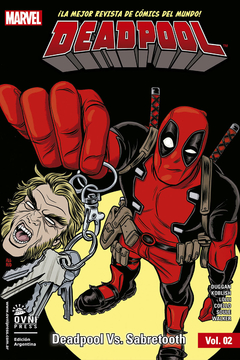 Deadpool Vol.2: Deadpool VS Sabertooth