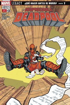 El Despreciable Deadpool (LEGACY) #3
