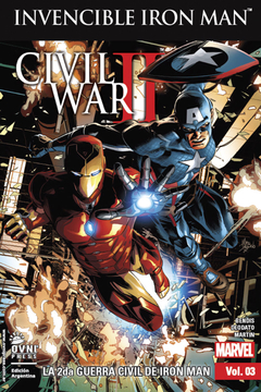 Invencible Iron-Man Vol.3: La 2da Guerra Civil de Iron-Man