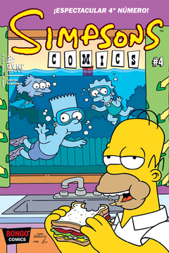 Simpsons Comics #4