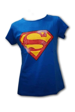 Remera Dama - DC Superman logo