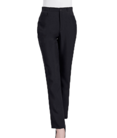 pantalon tropical negro