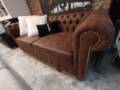 Sofa Chesterfield Clasico en internet